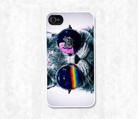 nyan cat - sun glass cat hard and Tpu case, samsung galaxy s3 I9300, samsung galaxy s4 I9500, iPhone 4/4s case, iPhone 5 Case, iPod case