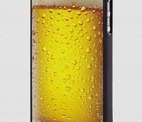 beer glass - hard case cover for iphone 4/4s also iphone 5